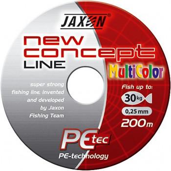 Плетёнка Jaxon New Concept Line Multicolor 200m