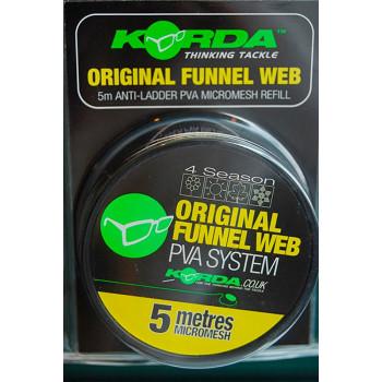 PVA Тунель на шпуле Korda PVA System Funnel Web Micromesh 20m