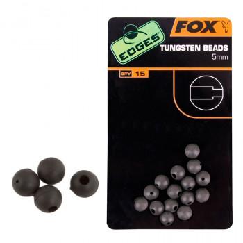 Бисер вольфрам. FOX Edges Tungsten Beads 5mm