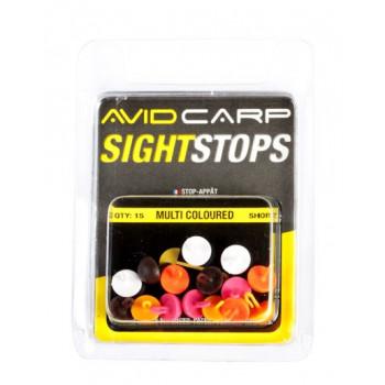 AVID CARP стопора для бойлов плавающие Sight Short Мульти