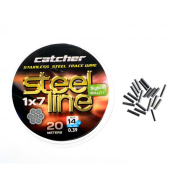 Поводковый материал Catcher Stainless steel 1x7 trace wire 20м 7кг.