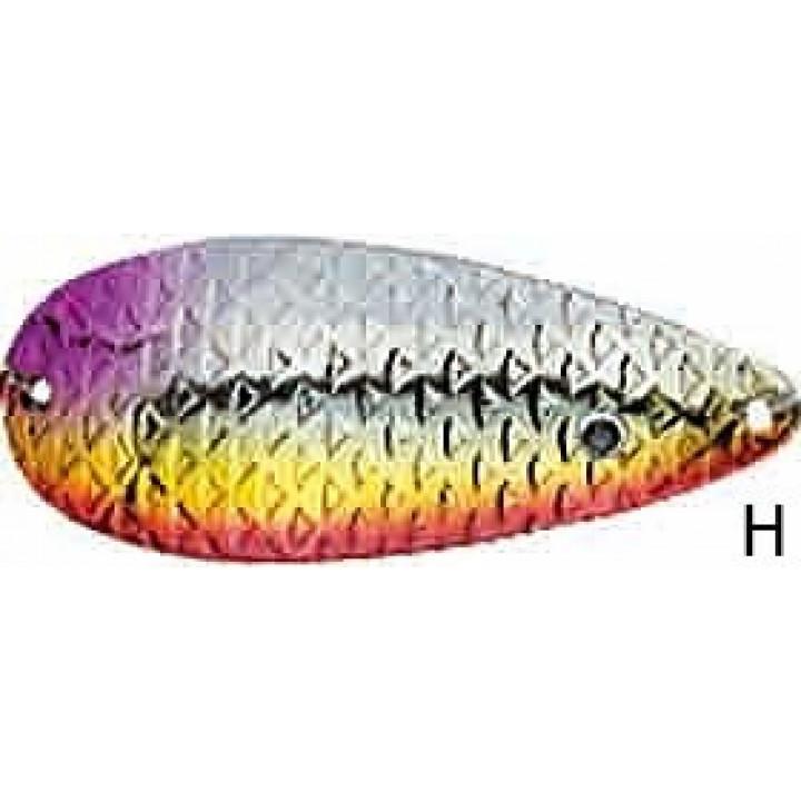 Колеблющаяся блесна Jaxon Holo Reflex Golem 1 H