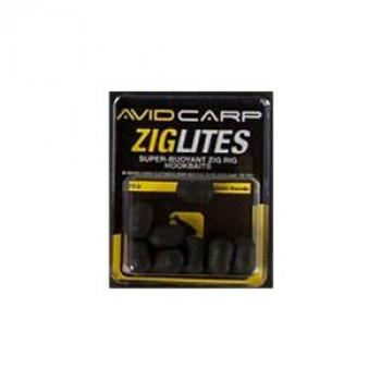 AVID CARP Бойлы искусственные Zig Lities 12мм Black