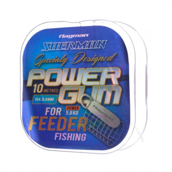 Амортизатор фидера Flagman Feeder Gum Sherman 1,0мм 6,5кг