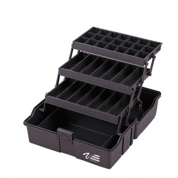 MEIHO Ящик рыболовный на 3 полочки VS-7040 390х220х220 Black