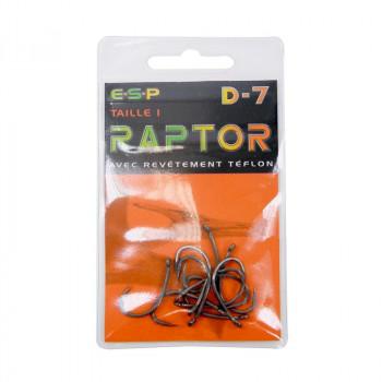 ESP Крючки Raptor D7
