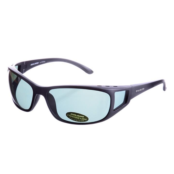 Очки поляризационные Solano FL20005D black green