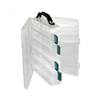 Flagman Коробка пластиковая двусторонняя HS-319 27.5х15х5