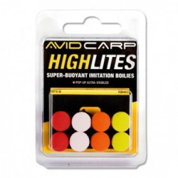 AVID CARP Бойлы искусственные HIGHLITES