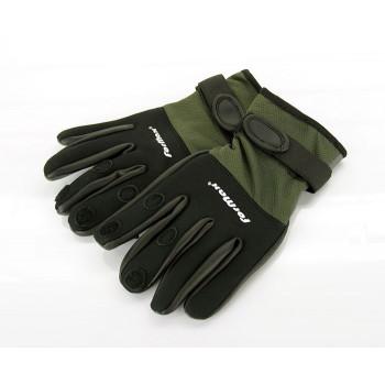 FORMAX Перчатки неопреновые (откр. три пальца) черн. верх