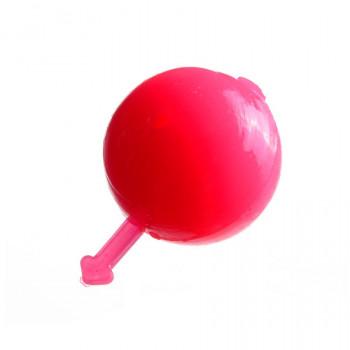 Бойлы плавающие аромат. Flagman, 14mm Клубника 14мм Розовый