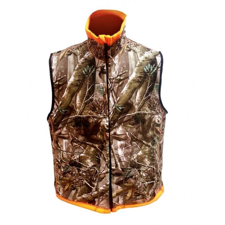 Жилет двусторонний NORFIN Huntinh Reversable Vest Passion/Orange XL