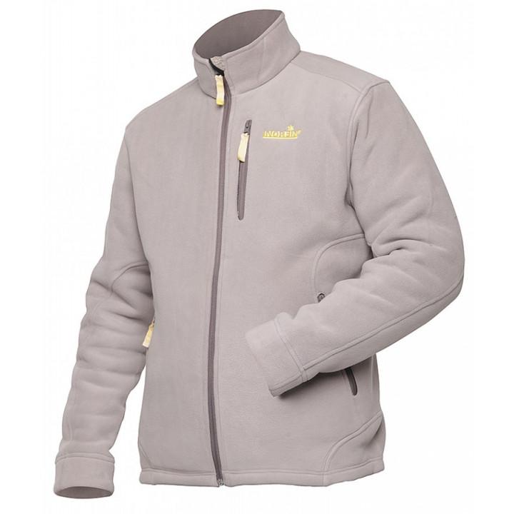 Куртка флисовая NORFIN NORTH (light gray)