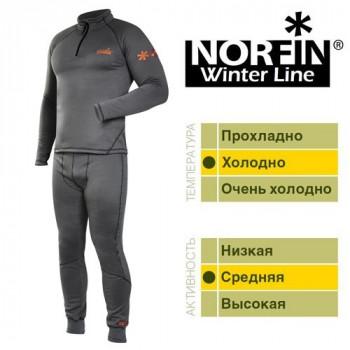 Термобельё Norfin WINTER LINE GRAY XL