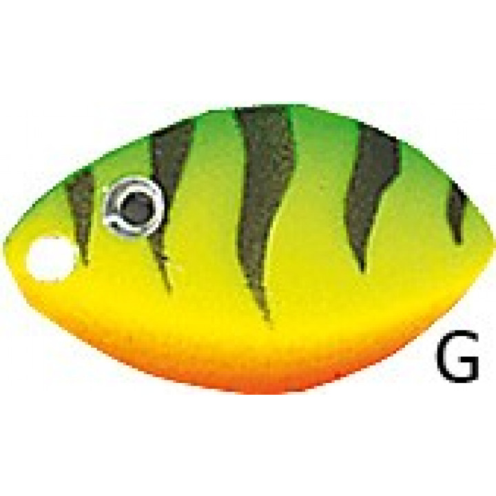 Вращающаяся блесна Jaxon Holo Reflex Velta G 4