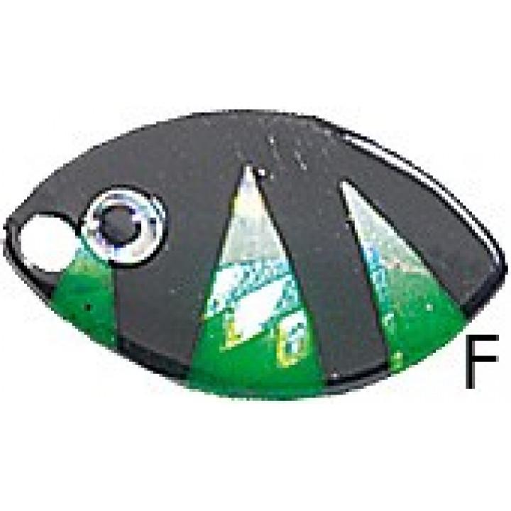 Вращающаяся блесна Jaxon Holo Reflex Velta F 4