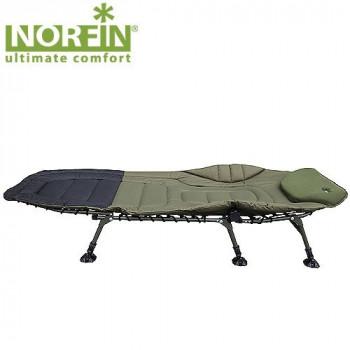 Кровать карповая 209х88х43мм Norfin Bristol (6 ножек)