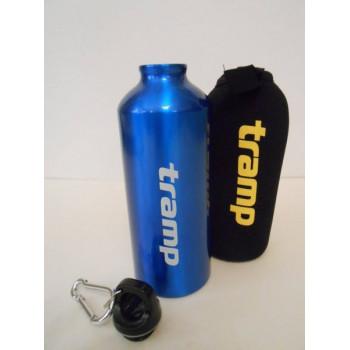 Бутылка алюминиевая в чехле из неопрена Tramp TRC-033