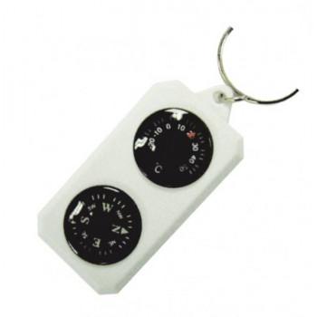 Компас-брелок сувенирный с термометром Sol SLA-003
