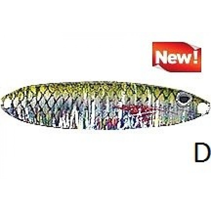 Колеблющаяся блесна Jaxon Holo Select Ukla Scot 2 D