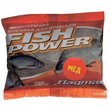 Добавка ароматизированная Flagman Fish Power 250 g Мёд