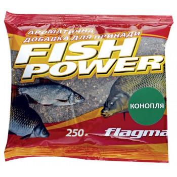 Добавка ароматизированная Flagman Fish Power 250 g Конопля