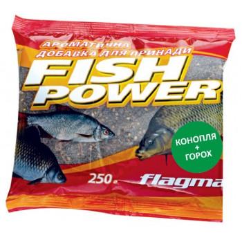 Добавка ароматизированная Flagman Fish Power 250 g Конопля-Горох