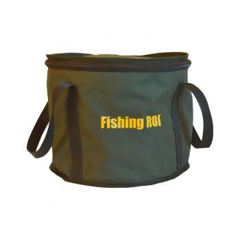 Ведро Fishing ROI с крышкой
