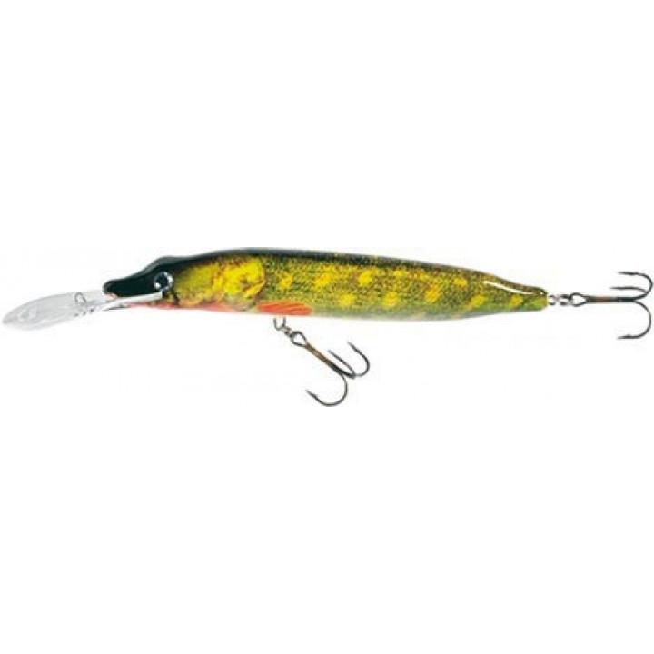 Воблер Jaxon HS Pike Deep Water 10g 2.0-3.0m Плавающий BM 10cm