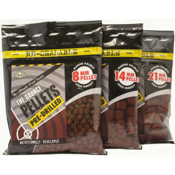 Пеллетс Dynamite Baits Source Pellets Pre-Drilled 350g