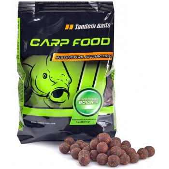 Бойлы Tandem Baits Carp Food Boilies SuperFeed 1kg Coco Vanilla 18mm