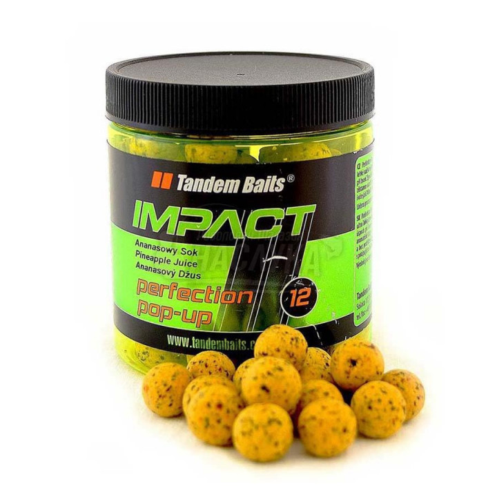 Бойлы Tandem Baits IMP Perfection Pop-Up 16mm 250ml Tiger Nut