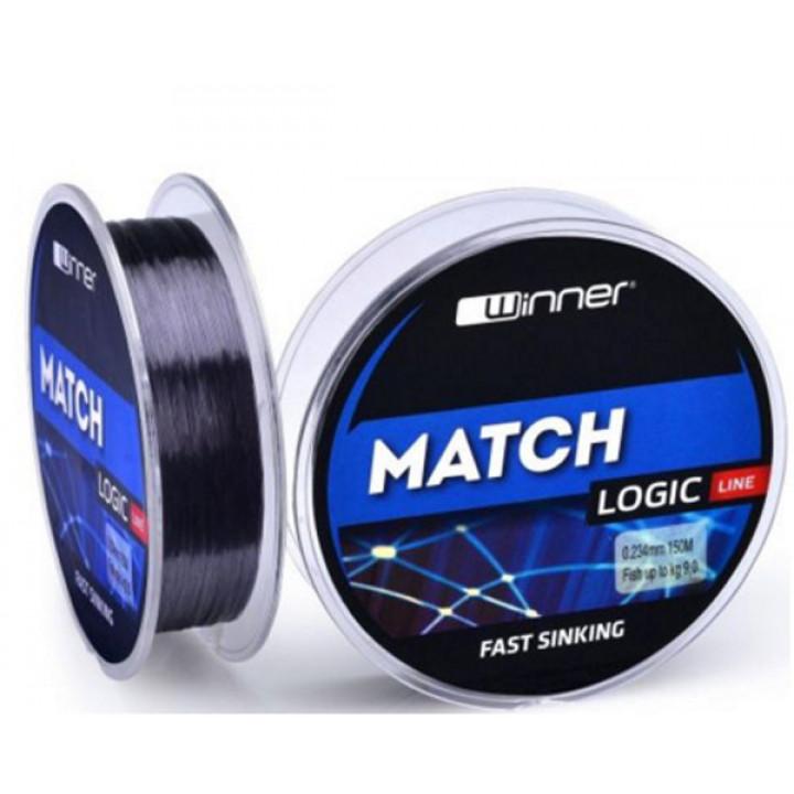 Леска Winner Logic Match fast sinking line 0.181mm 150m
