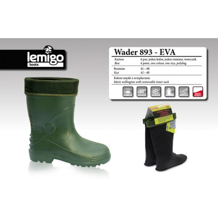 Сапоги Lemigo Wader 893 EVA  (-30°) (короткие)