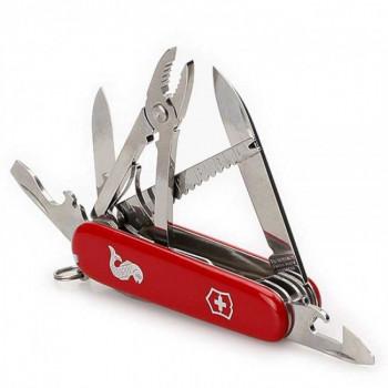 Мультитул Swiss Army Angler красный