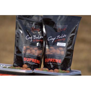 Бойлы Adder Carp Boilies Supreme Soluble Strawberry 24mm