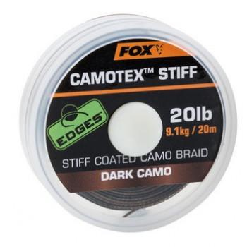Поводковый материал FOX Camotex Dark Stiff