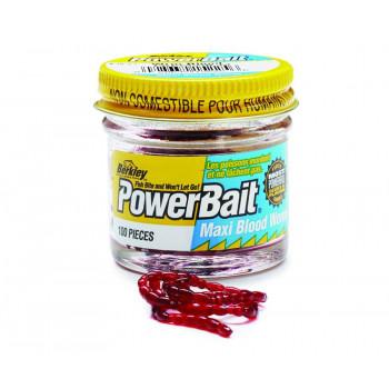Мотыль Berkley Powerbait Blood Worms Red 150 шт Micro Red
