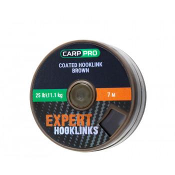 Поводковый материал в оплётке Carp Pro 7m