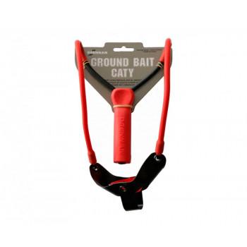 Рогатка для прикармливания Drennan Gronundbait Сaty Long Range 50-80м