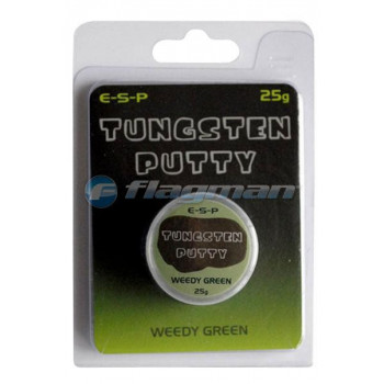 ESP Мягкий свинец Tungsten Putty Camo Weedy Green 25g