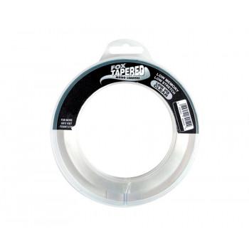 Моно шок лидер Fox Tapered Leader 0.39-0.66mm 3x12m 15-45 lb Clear