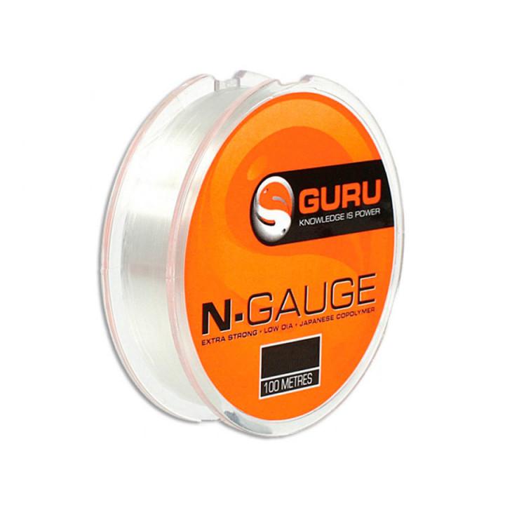 Леска Guru N-Gauge 0.15mm 0.1-0.2mm 100m