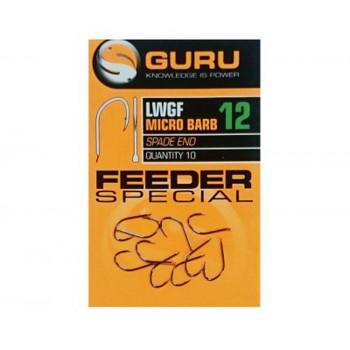 Крючки Guru Light Wide Gape Feeder Hook №12