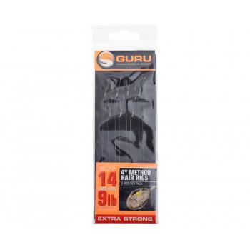 Готовые поводки Guru Method Hair Rig 10cm 9lb