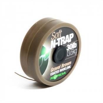 Поводковый материал KORDA N-TRAP SOFT 20m 30lb