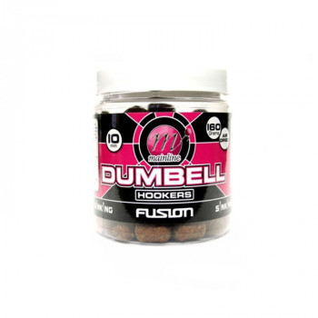 Бойлы Mainline Dedicated Base Mix Dumbell Hookers Air Dried Fusion