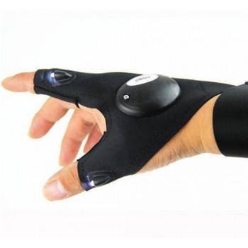 Перчатка с фонариком на левую/правую руку