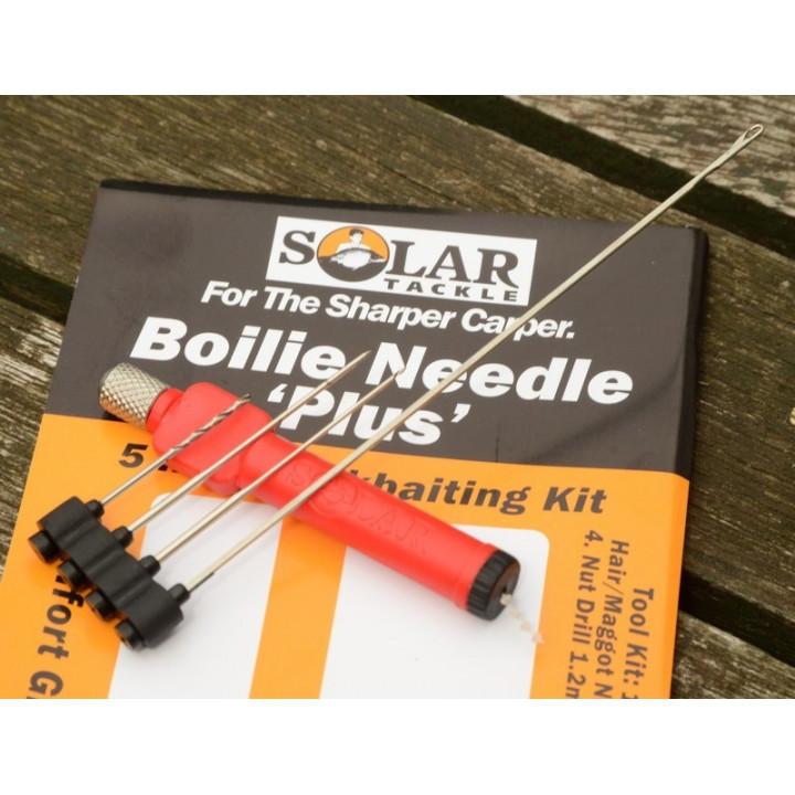 Игла Solar BOILIE NEEDLE PLUS- 5 TOOLS IN 1 YELLOW