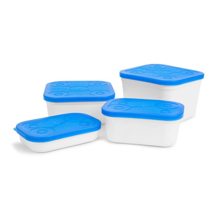 Емкость для насадки Preston White Bait Tub 1.8L Белый/голубой